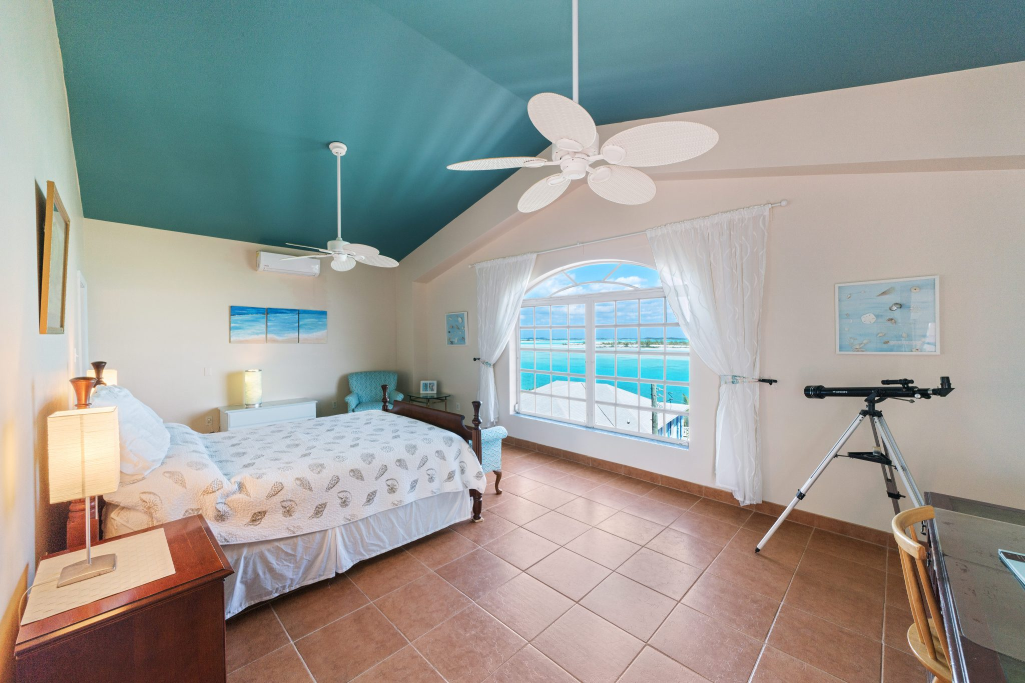 Master Bedroom Harbour View Exuma