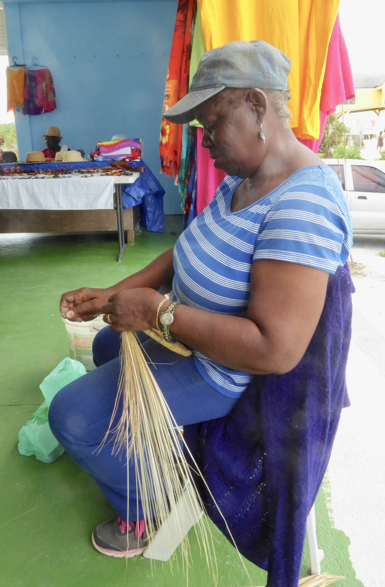 Ladies of the straw market Exuma