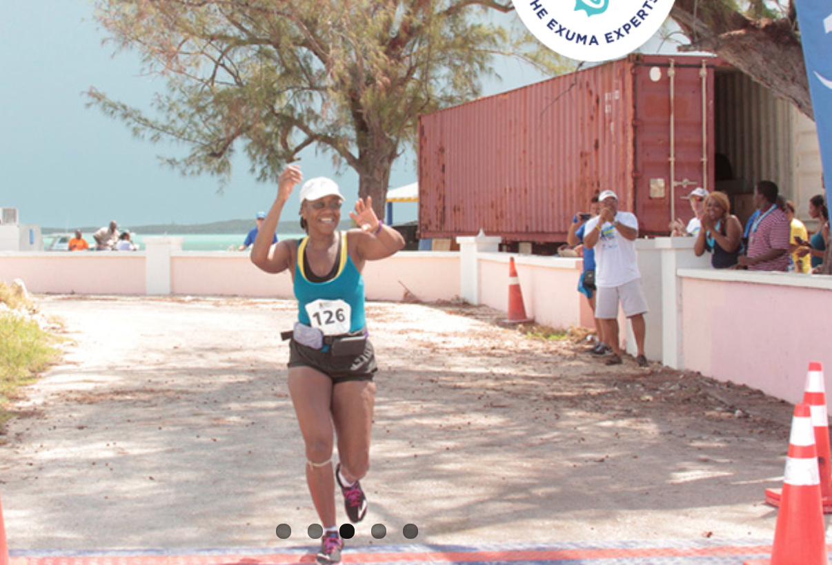 finish of Exuma marathon