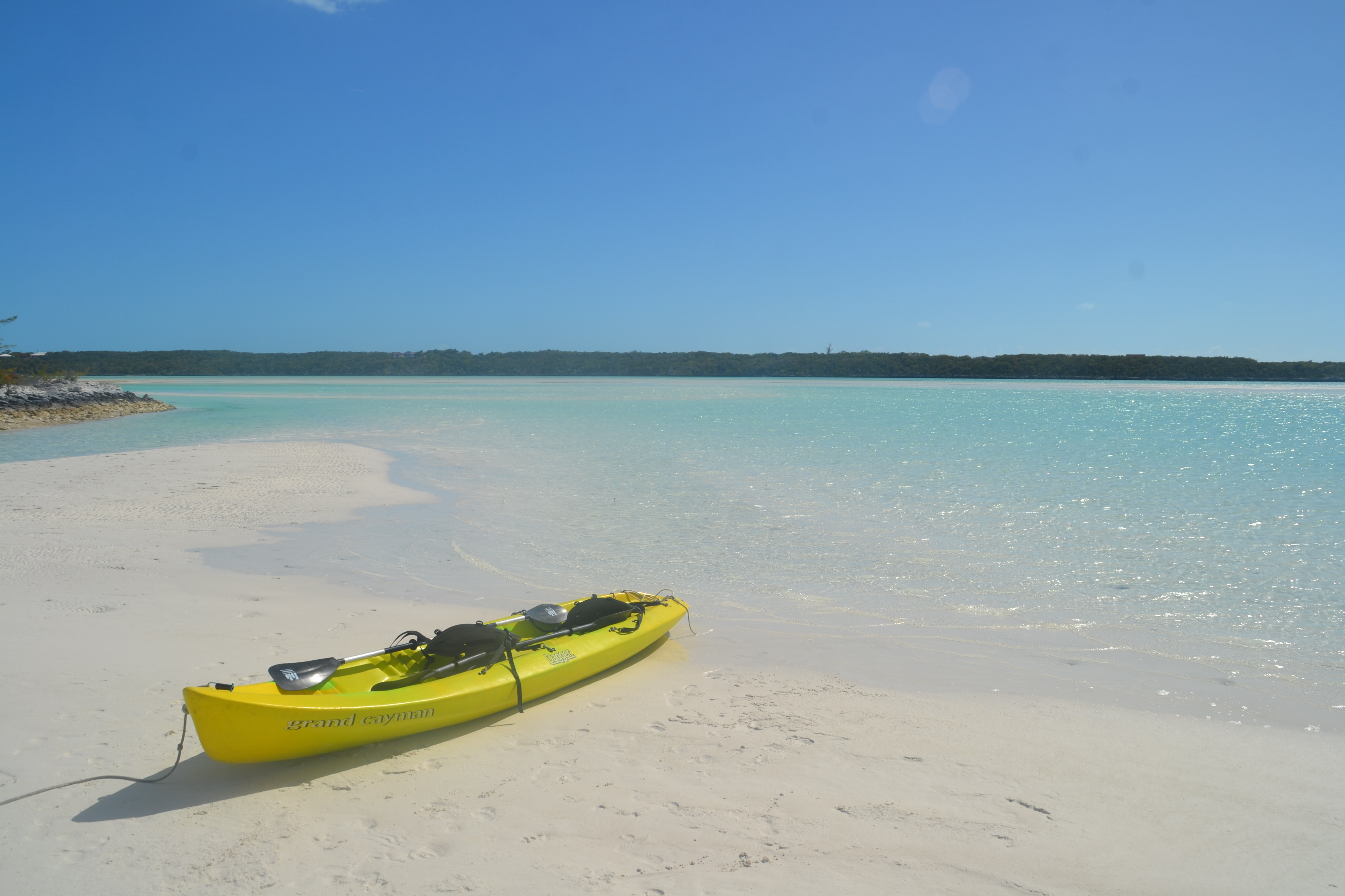 Harbor View Exuma kayak